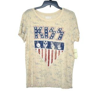Lucky Brand KISS Graphic Print Tee M